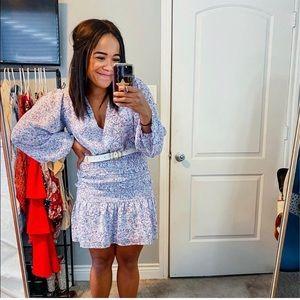 Storia Ruched Mini Dress